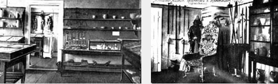 Bilder vom Museum aus der Zeit 1858 - 1950