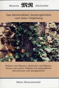 Broschüre Zaubergärtchen, Museum Hohenleuben