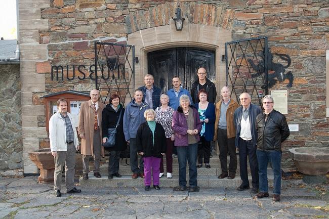 Mitglieder des Hofer und Hohenleubener Geschichtsvereins