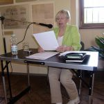 Dagmar Wuttge beim Vortrag