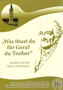 Goethe in Gera